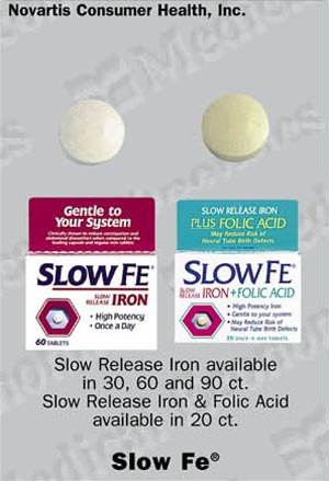 Slow poison tablets